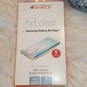 Samsung Galaxy S6 edge+ HD Clear Screen Protection